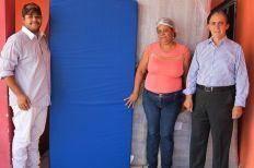 CDL Social fez a entrega oficial de 33 colchões para Casa de Apoio Esperança