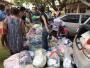 CDL Social e Pastoral Amor em Cristo fazem doação de Natal no Aterro Sanitário da Capital