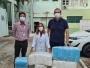 CDL Cuiabá entrega doações de jalecos ao Hospital Júlio Múller